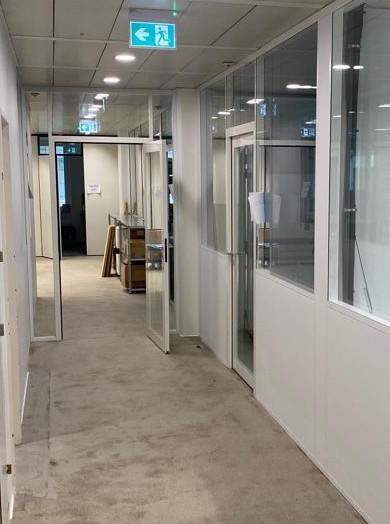 Rénovation d'une surface administrative-Lausanne